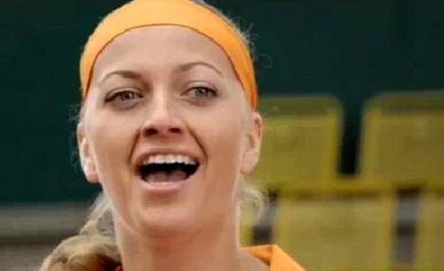 Petra Kvitova in czech commercial