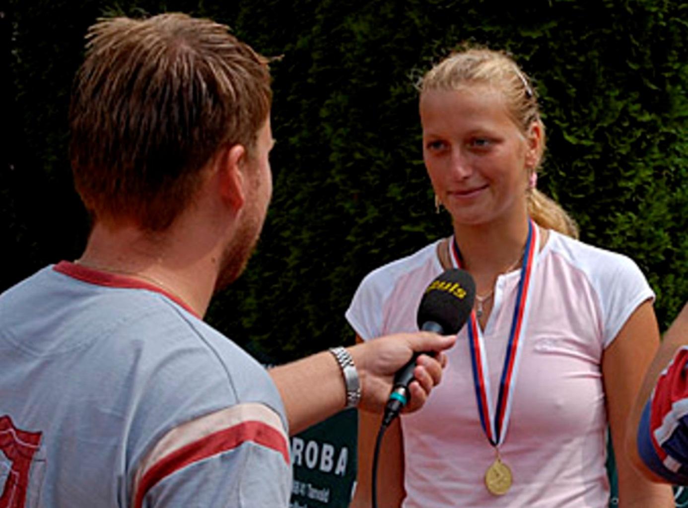 Petra Kvitova nipples 2006