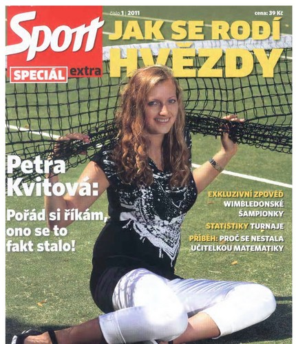 Petra Kvitova  sports magazine - tennis Photo