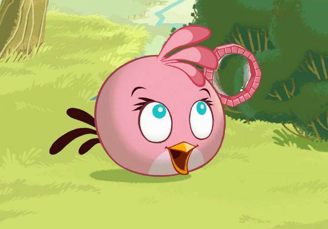 Pink Angry Bird