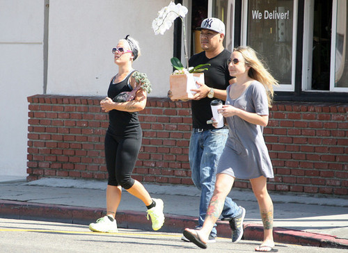 Pink Buys a Bonsai Tree [August 9, 2012] - pink Photo