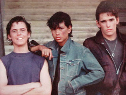 Ponyboy!...and Johnny and Dallas...