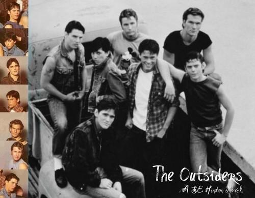 Ponyboy!...and the gang...