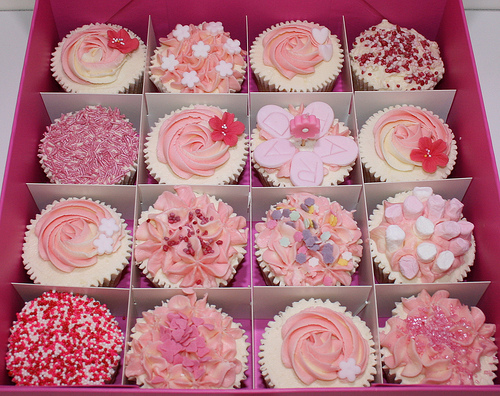 Girly Cake Design Ideas : Pretty Cupcakes - Cupcakes Photo (31768261) - Fanpop