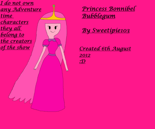 Princess Bubblegum first attempt :D