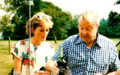 Princess Diana and her father