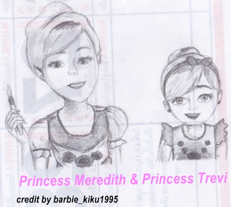 Princess Meredith & Princess Trevi - barbie-movies Fan Art