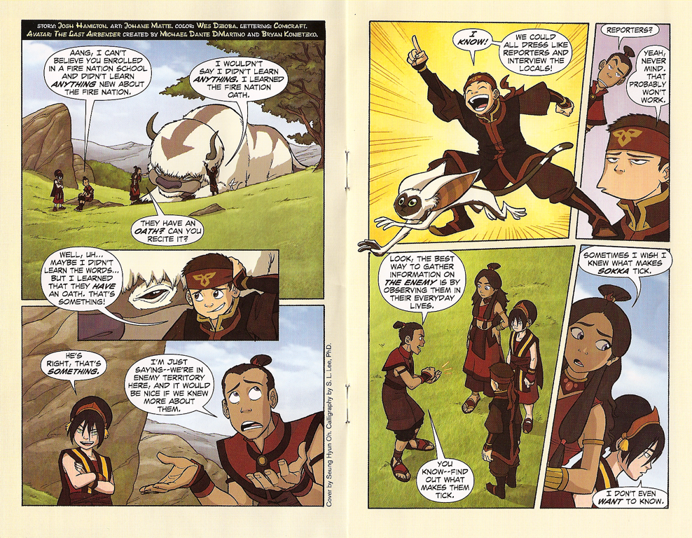 gay last Avatar aang airbender comic the