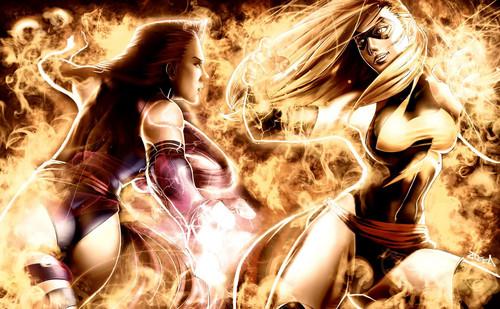 Psylocke VS Ms Marvel