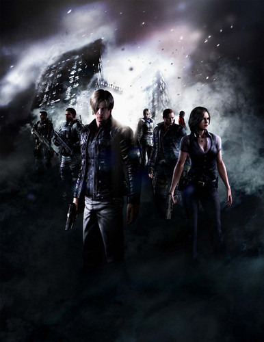 RE6 Character Art