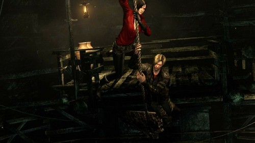 RE6 Leon, Helena and Ada