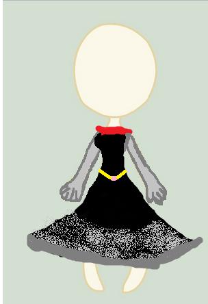 Read the description!! Dark fashion princess dress