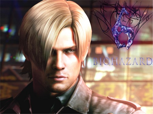 Leon Kennedy 바탕화면 possibly with a portrait entitled Resident Evil 6 Leon