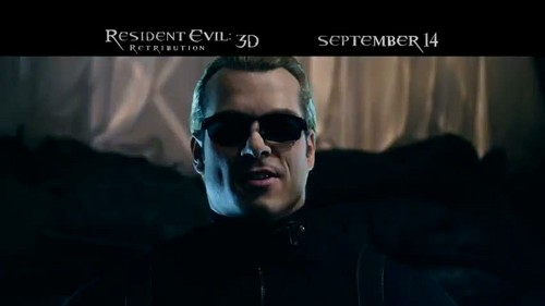 Resident Evil Retribution Screenshots from TV Spot