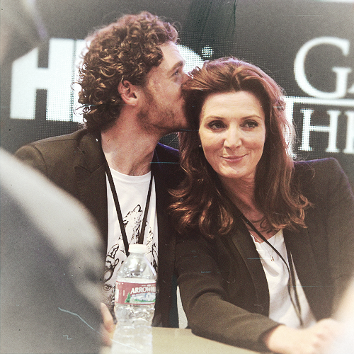 Richard and Michelle