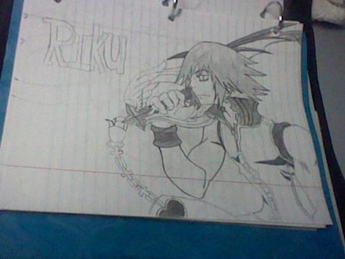 Riku-Kingdom hearts