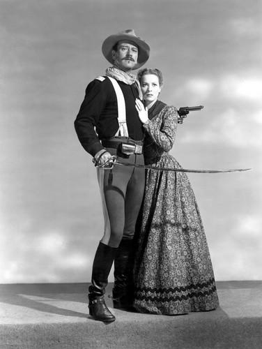 Rio Grande - John Wayne and Maureen O'Hara