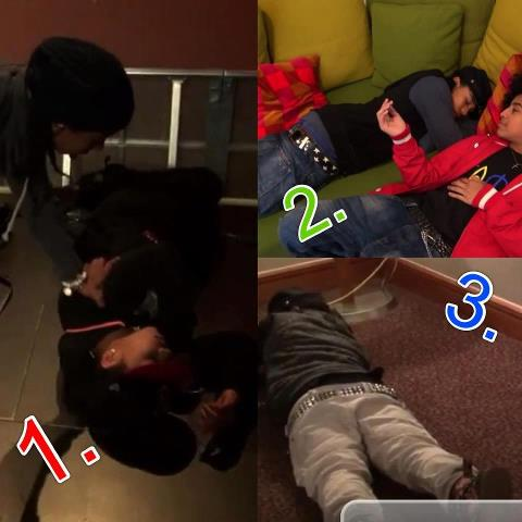 Roc basically sleeping throughout the whole video ♥ :) LOL