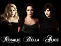 Rosalie Bella & Alice - twilighters wallpaper