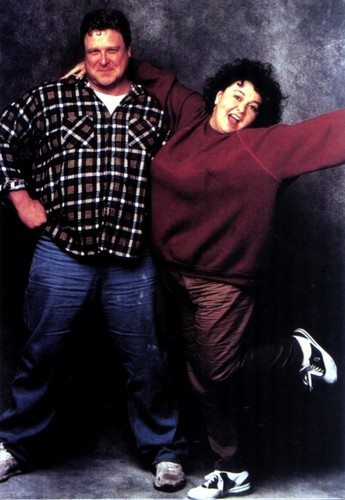 Roseanne wallpaper with a cappuccio titled Roseanne & Dan