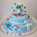 SMURF CAKES - food photo