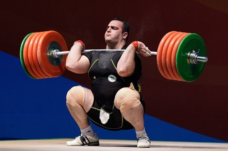 Iran Images Salimi Leads Gold Silver In Weightlifting Wallpaper And Background Photos