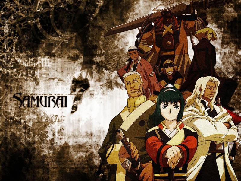Anime Samurai 7