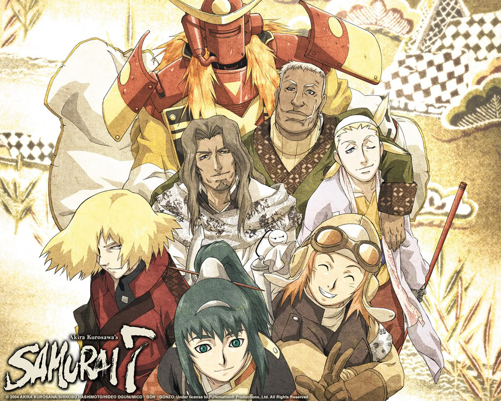 Samurai 7 Anime Characters : Samurai anime photo  fanpop