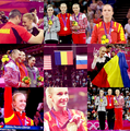 Sandra Izbasa Gold Medal at Gymanstic SIngle - romania fan art