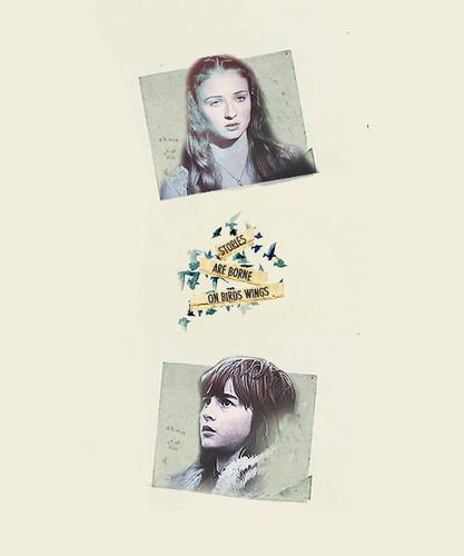 Sansa & Bran