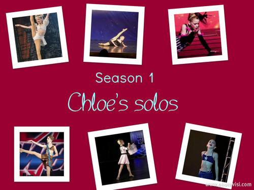 Dance Moms wallpaper called Season 1 Chloe's Solos