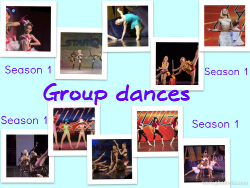 Season 1 Group Dances Collage