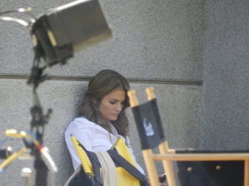 Castle images Season 5 - Set Photo - 9th August 2012 wallpaper and background photos