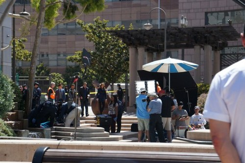 Season 5 - Set Photo - 9th August 2012 - castle Photo