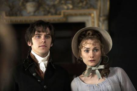 Jane Austen 壁纸 probably with a bonnet titled Sense & Sensibility BBC