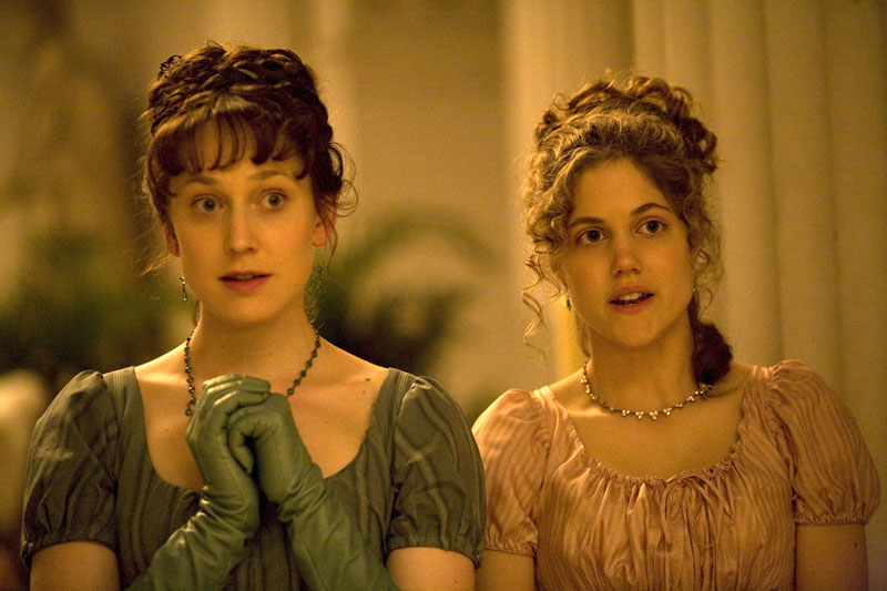 sense and sensibility elinor marianne Elinor and awkward edward ferrars are attracted to each other and endure various vicissitudes before ending in each others arms, and marianne falls in love with the charming mr willoughby, who dumps her for the moneyed lucy steele, but is saved by colonel brandon.