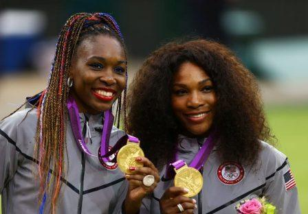 Serena and Venus win olympic doubles or