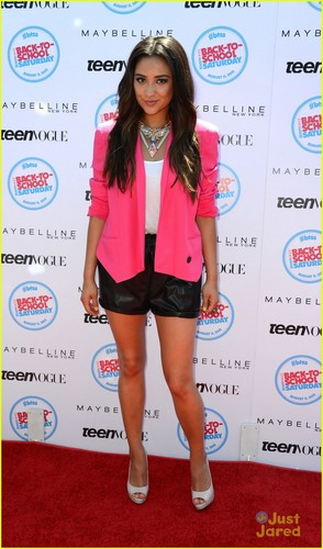 Shay at the Teen Vogue Back-To-School Event held at The Grove - pretty-little-liars-tv-show Photo