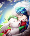 Shaymin & Mars - mars-mashumaro-the-panda fan art