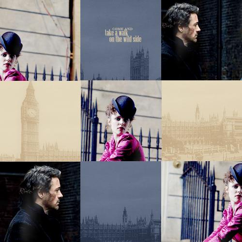 Sherlock Holmes and Irene Adler wallpaper entitled Sherlock Holmes & Irene Adler