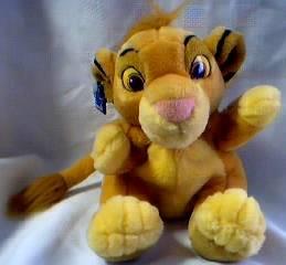Simba plush