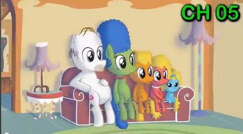 Simpsons Ponies :D