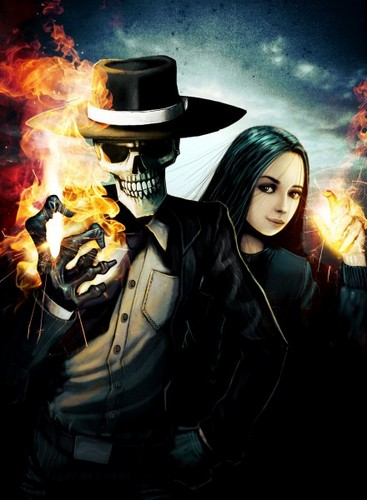 Skulduggery and Valkyie