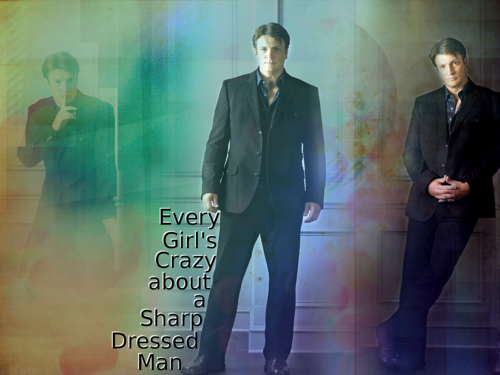 Smart Dressed Man - Nathan Fillion :)