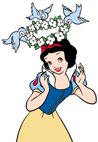 Snow White and the Seven Dwarfs achtergrond possibly containing anime called Snow White Clipart