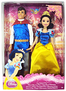 Snow white/prince Doll