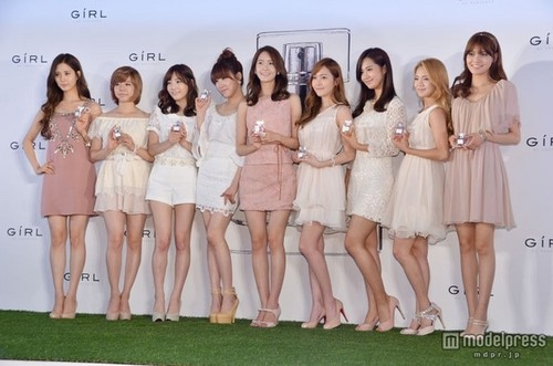 Snsd at Girl De Province 日本 launching event