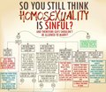 So You Still Think Homosexuality is Sinful? - gay-rights photo