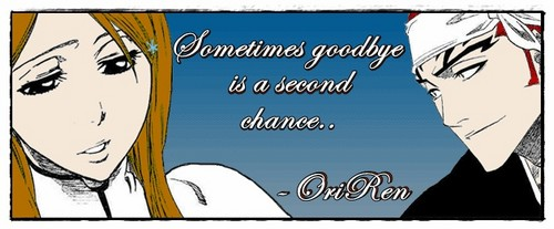 Sometimes goodbye is a secondo chance