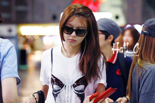 Sooyoung @ Gimpo Airport